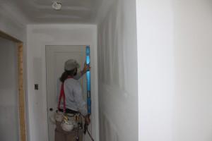 Installation de portes intérieures