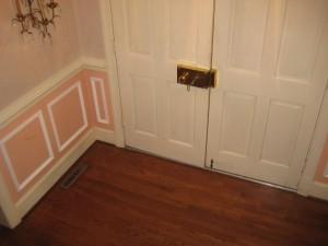baseboard, interior doors